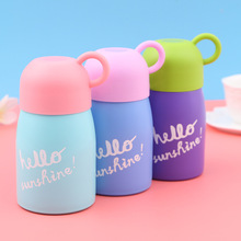 New Cheap 200ML Candy Thermo Mug Thermos Cute Coffee Cup For Kids Stainless steel Thermal Bottle Termos Hot Water insulated cup