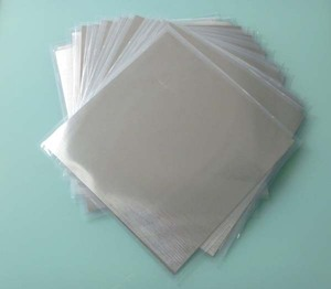 Image 4 - Indium Sheet Indium Foil Size: 100mm*100mm*0.05mm Laser Cooling and Sealing Coating Material