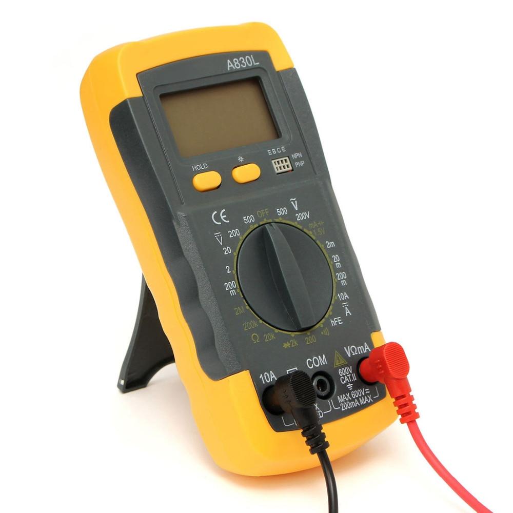 Lcd Digital Multimeter Multitester Voltmeter Ohmmeter Ammeter Ac Dc Circuit Tester Multi Voltage Current Capacitance Ohm Meter In Multimeters From Tools On