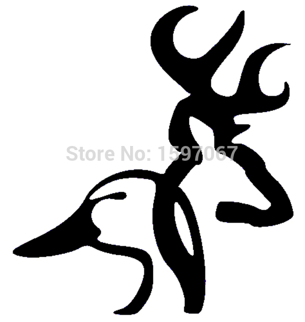 Browning Deer Duck Aufkleber Auto Fenster LKW SUV Tür Laptop Kajak usw. Buck Doe Jagd Boy Girl Gun