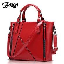 ZMQN Frauen Handtasche Von Berühmten Marke Designer Taschen Handtasche Hohe Qualität Nähen Eimer Rote Umhängetasche Bolsa Feminina 2017 A808