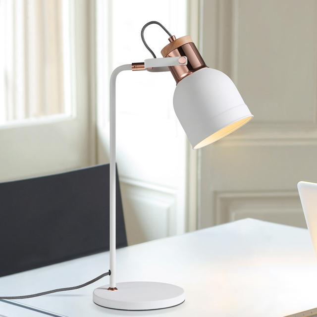 Work Desk Lamp Nordic Office Study Table Lamp Study Desk Light Bedroom  Bedside Decorative Table Lamp