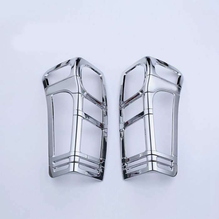 Car chrome strip For isuzu d max accessories rear lamp cover trim for d max 2012 2013 2015 car styling tail light cover