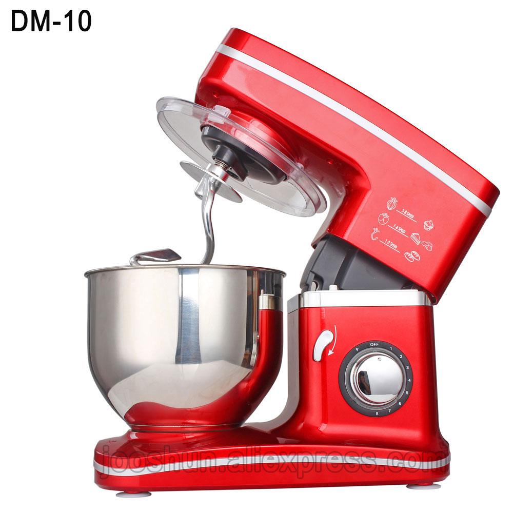 1000W Electric Mixer Food Processor Dough Kneading Machine 5.5L Eggs Cake Kitchen Desktop Mixer Food Cooking Mixing Beater wavelets processor