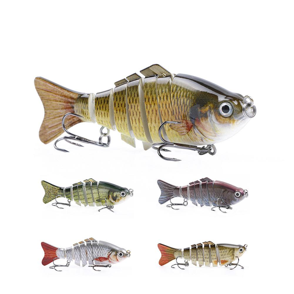 100mm/15g Multi-joint Fishing Fake Bait Water Bionic Lures Baits lur