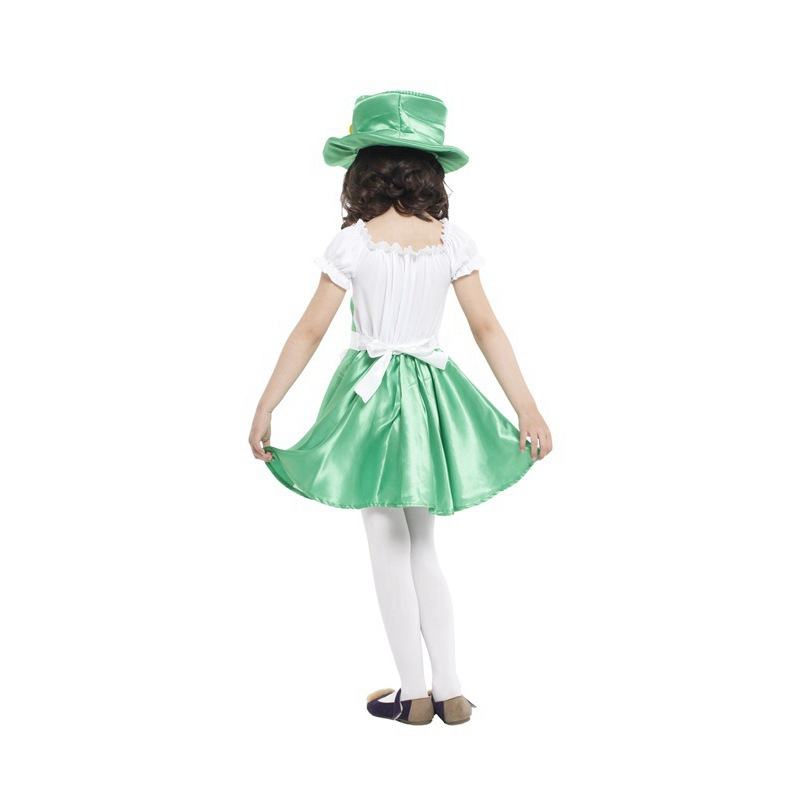 Girl fantasia disfraces Halloween party Costumes for Children Cosplay Ireland Elf green Costume Kids Stage performance clothes-in Girls Costumes from ...  sc 1 st  AliExpress.com & Girl fantasia disfraces Halloween party Costumes for Children ...