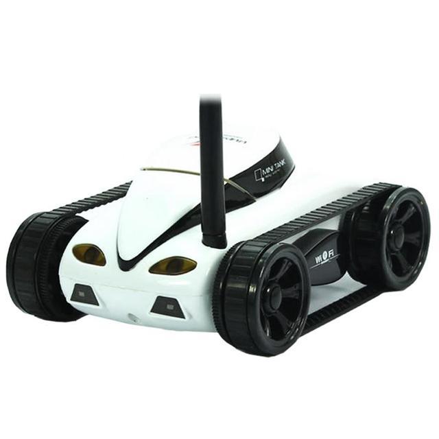 Blomiky Танк RC ISPY Wi-Fi Контролируемых Wilreless Spy С Wi-Fi 0.3mp Hd Камера iPhone IOS Android Счастливым