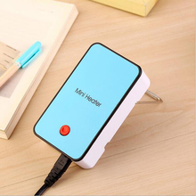 Practiced Portable MINI Heater hand Electric Air Warmer Heating Winter Keep Warm Desk Fan for Office Home 5 Color Available