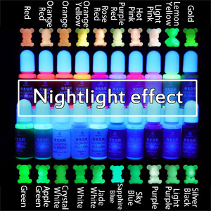 Glowing in dark High Concentration Epoxy UV Resin Coloring Dye Colorant Pigment Handmade DIY Jewelry Making Access