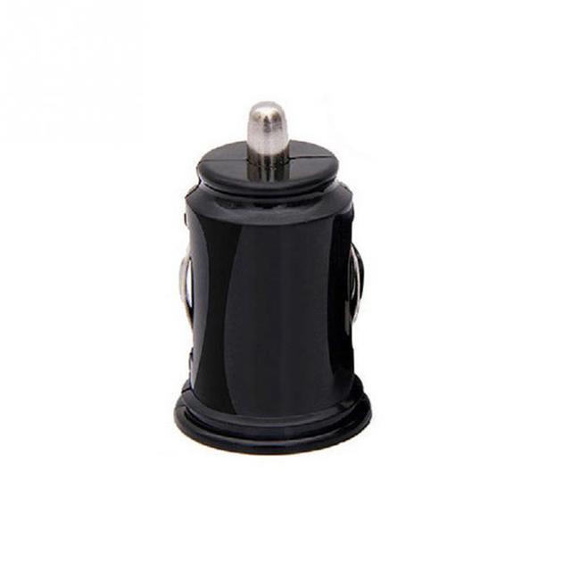 Universal Dual USB 2 puertos Mini coche encendedor cargador de enchufe 5 V 2.1A Smartphone cargador de coche adaptador de corriente