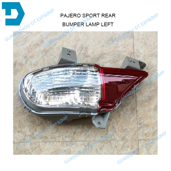 REAR FOG LAMP FOR PAJERO SPORT REAR BUMPER LAMP FOR MONTERO SPORT CHALLENGER PARKING LAMP CHOOSE THE VERSION YOU NEED лодка intex challenger k1 68305