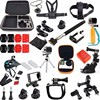 Gopro Kit Accessories Set Chest Wrist Belt Harness Carry Bag Frame Head Strap Suction Cup Mount