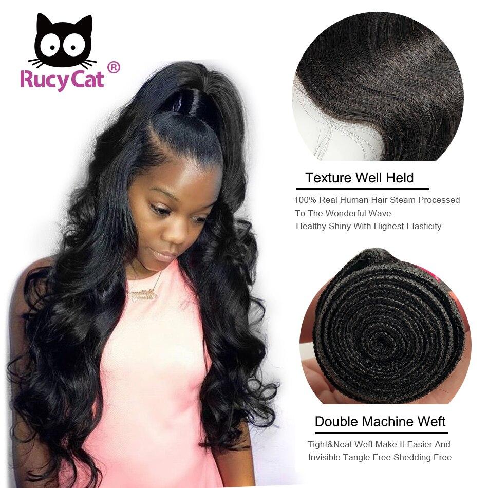 4 pacotes cor natural remy extensões do cabelo