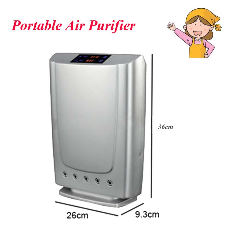цена 1pc 16W Portable Air Purifier for Home/Office with Purification Remote Control GL-3190