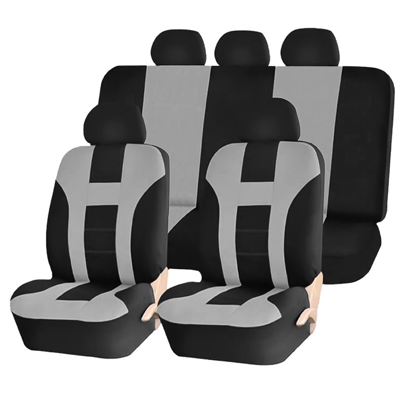 High Quality Automobiles Seat Covers Universal Polyester Car Seat Cover for Ford Lada KIA Honda Most Cars Seat Protector