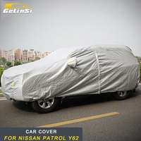 GELINSI car cover sunshine visor Exterior Accessories For Nissan Patrol Y62 Auto Car