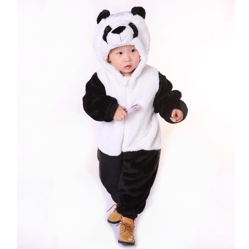 2016 New 6 Styles Children Flannel Cartoon Jumpsuits Cute Baby Rompers Soft Winter Spring Body Suits