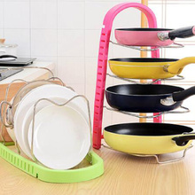 functional Multilayer Pot Pan Cover Stand