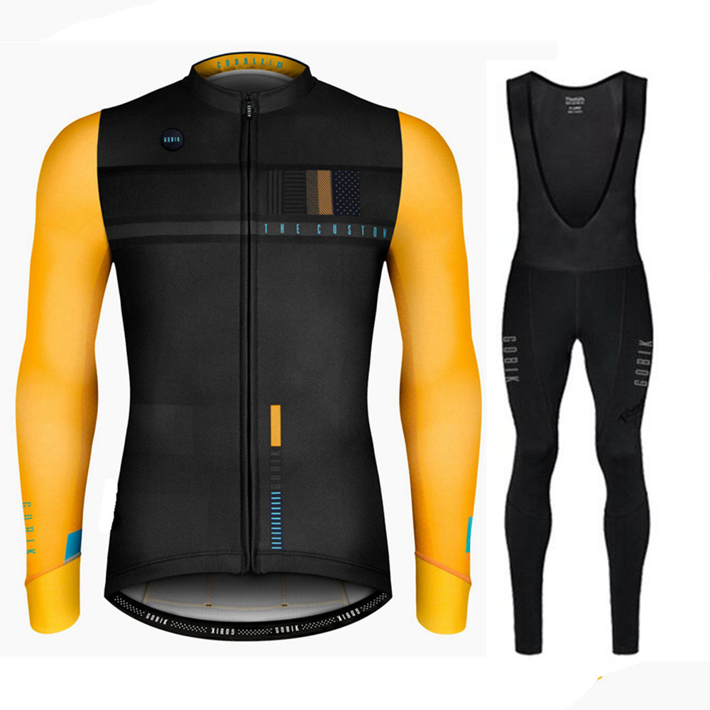 Detail Feedback Questions about 2018 New Men s Ciclismo Cycling Jersey Set Long  Sleeve Autumn Bicycle MTB Road Bike Tops Clothing Wear Maillot Ropa  Ciclismo ... fc0681446