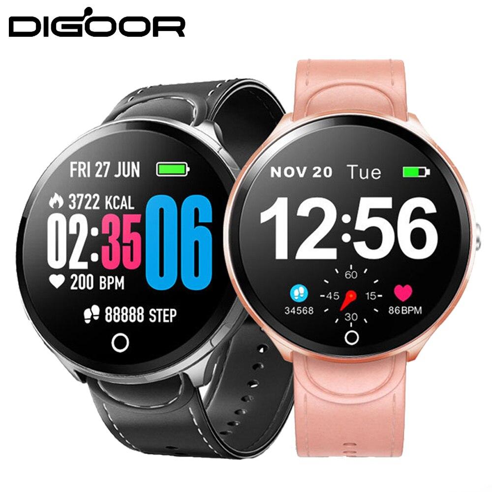 Unterhaltungselektronik Radient Digoor Smart Uhr Blutdruck Sauerstoff Aktivität Tracker Heart Rate Monitor Smart Fitness Armband Wasserdichte Volle Touchscreen Aromatischer Charakter Und Angenehmer Geschmack