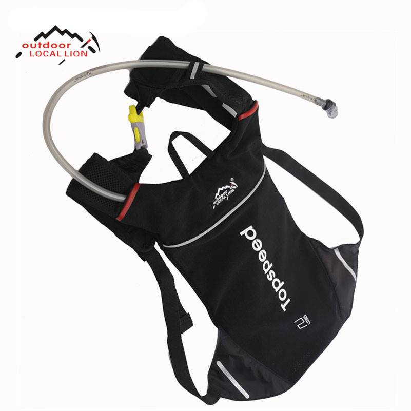 LOCAL LION Water Backpack Cycling Rucksack Backpack Outdoor Bicycle Bike Bag Hydration System Bike Backpack And 1.5L Water Bag