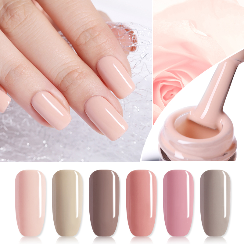 1c43f45e8f BELLE FILLE Nude Series Colors Gel Nail Polish UV 10ml Beige ...