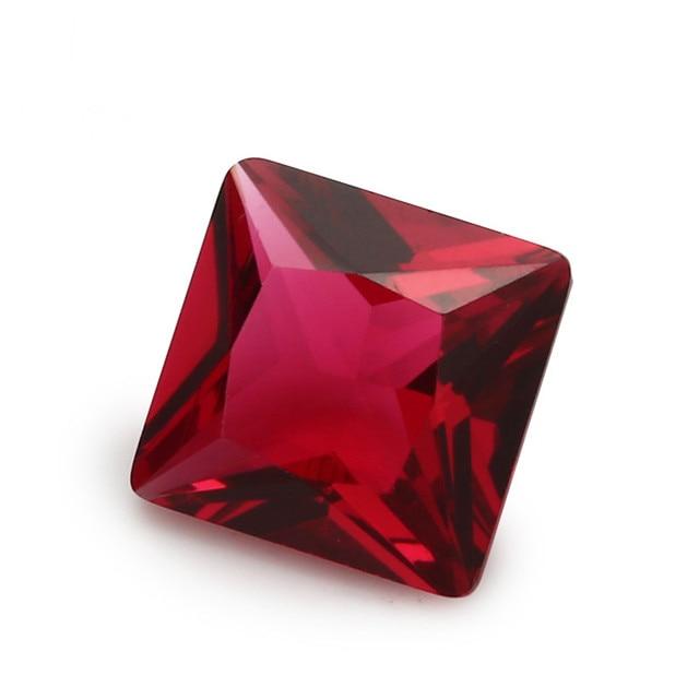 Купить стеклянный камень для ювелирных изделий размер 2x2 ~ 12x12 мм