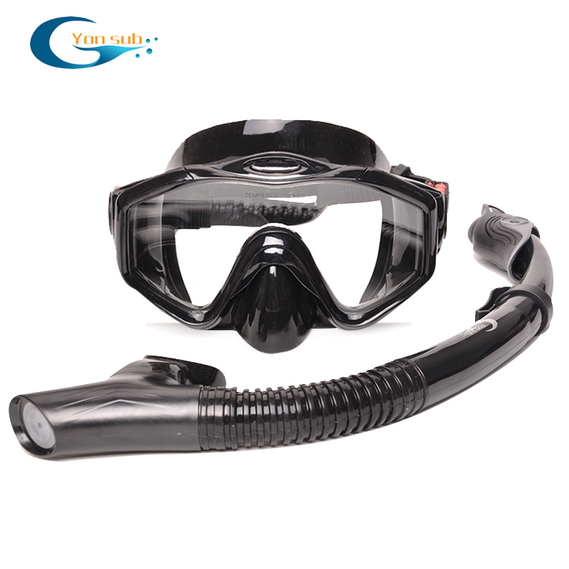 Professional Scuba Adult Diving Equipment With Mask Snorkel Adjustable Fins Set Snorkeling Gear For Underwater Hunting Swimming 2