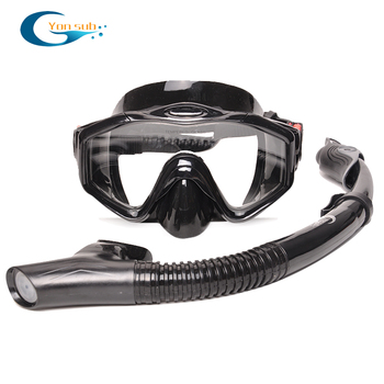 Professional Scuba Adult Diving Equipment With Mask Snorkel Adjustable Fins Set Snorkeling Gear For Underwater Hunting Swimming 7