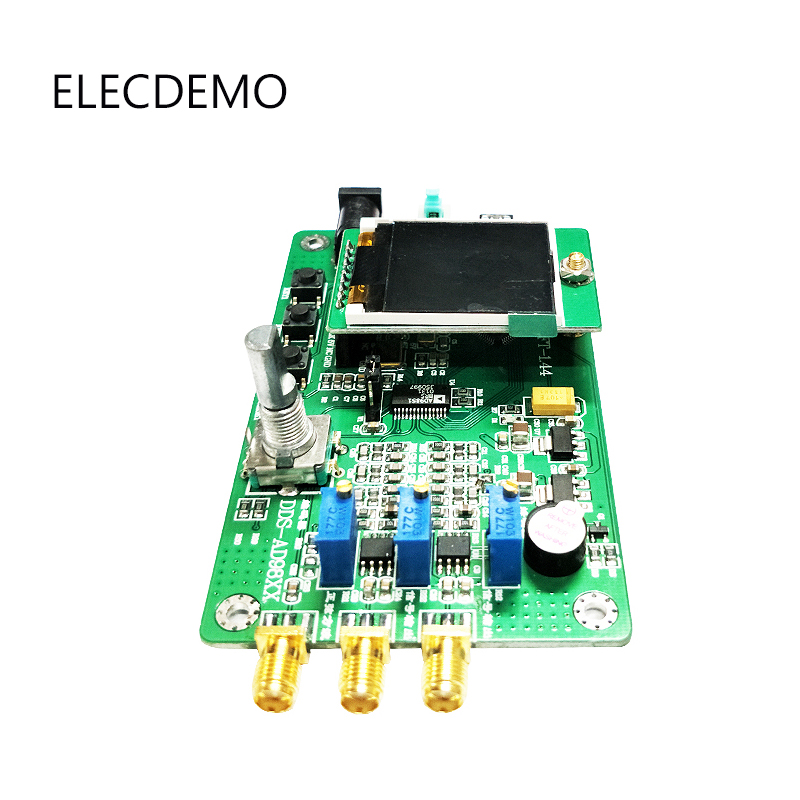 Image 2 - AD9850 module DDS function signal generator Send program Compatible with 9851 Sweep Function TFT color LCD Function demo board-in Demo Board Accessories from Computer & Office