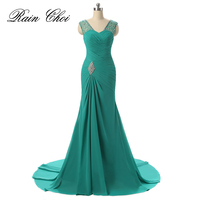 Royal Blue Red Black Mermaid Prom Dresses Luxury Floor Length Party Formal Gowns Long Prom Dress