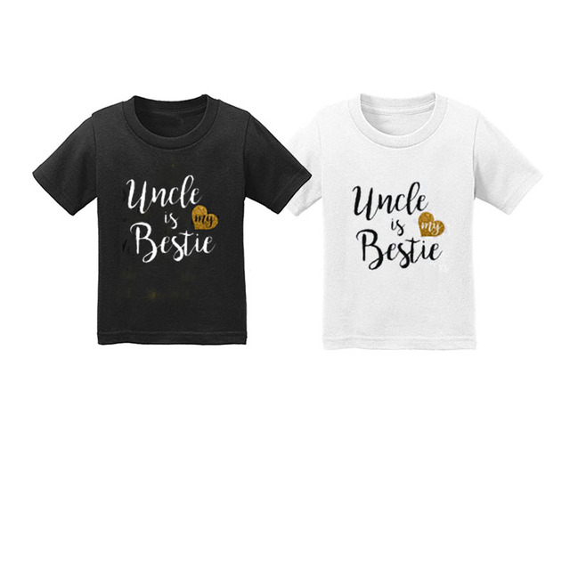 2pcs Infant Toddler Baby Kid Girls T Shirt Birthday Twins Clothes Set For Boys Kids Tops Half Happy