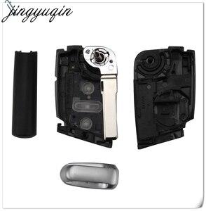 Image 4 - Jingyuqin 10 sztuk 3 przyciski składana klapka obudowa pilota z kluczykiem do samochodu Case Fob dla VW Golf 7 GTI MK7 Skoda Octavia A7 Seat