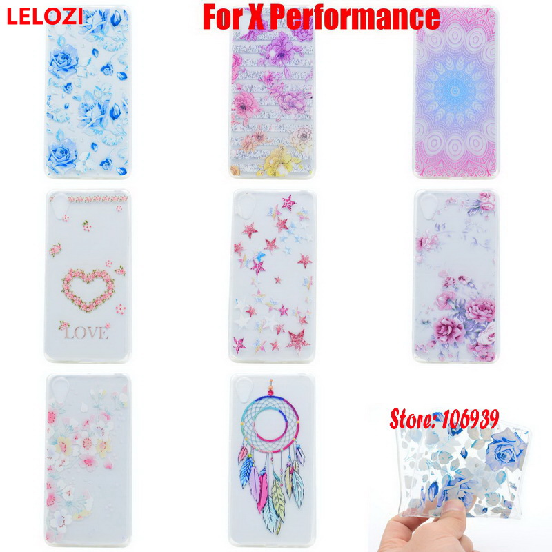 LELOZI Soft Transparent TPU Clear Silicone Fundas Coque Case Cover Carcasa Etui For Sony Xperia X Performance F8132 F8131 Dual