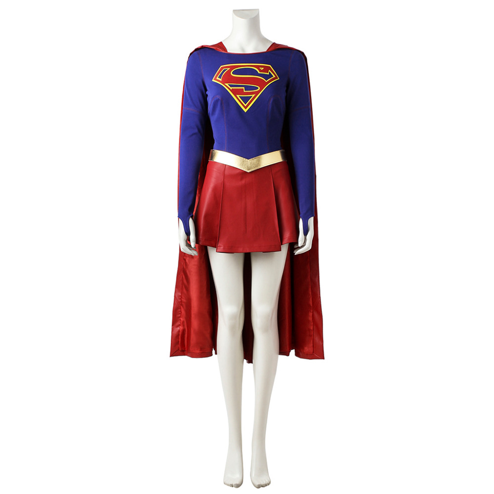 Kara Zor El Costume Adult Womens Halloween Carnival Costume Cosplay