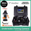 Underwater Fishing Camera 7 LCD DVR Support 700TVL 18 LED Lights Rotate 360 Degree Underwater Ice