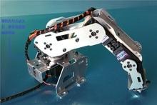 Abb Industrial Robot A528 Mekanisk Arm 100% Alloy Manipulator Robotarm Rack med 4 servos