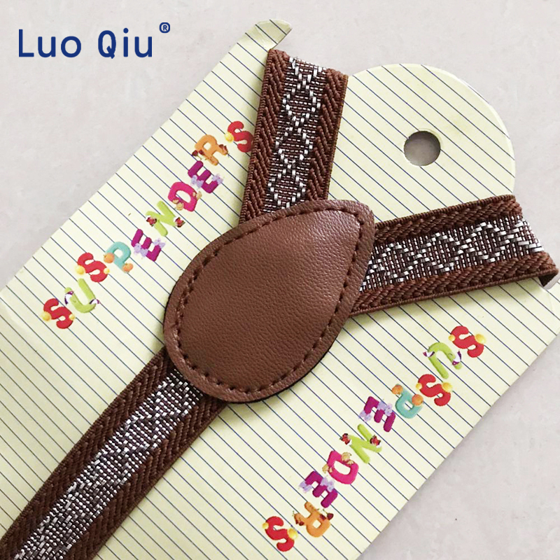 Baby Suspenders Fashion Kids Braces Strong 3Clips Boy Suspenders Trousers Suspensorio Elastic Strap