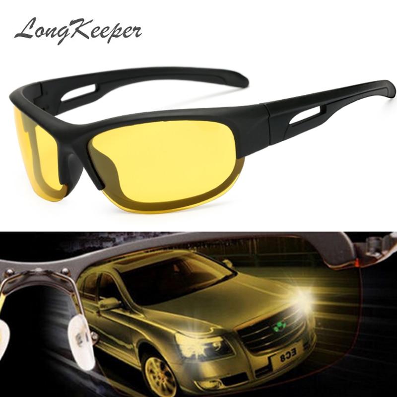 LongKeeper New Brand Fashion Polarized Sunglasses Men Travel Sun Glasses For Driving Golfing Eyewear Gafas De Sol KP1007