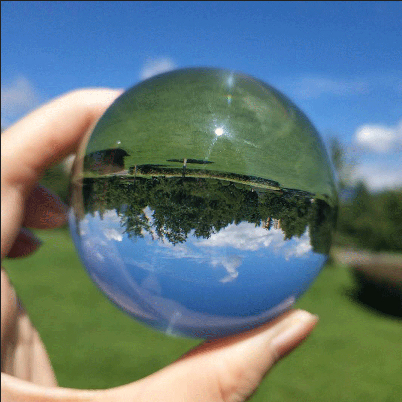 Crystal Ball Sphere 50mm 80mm With Stand 2 Photography Lensball Background Decor K9 Glass Crystal Clear Lens Ball Cheapest Price From Our Site Home Decor