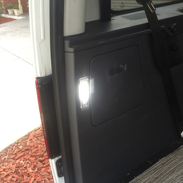 1 x 12V LED Luggage Lamp Interior Dome Light Car Trunk Compartment Light For VW Golf Mk4 Mk5 Mk6 Mk7 Plus Jetta Passat CC