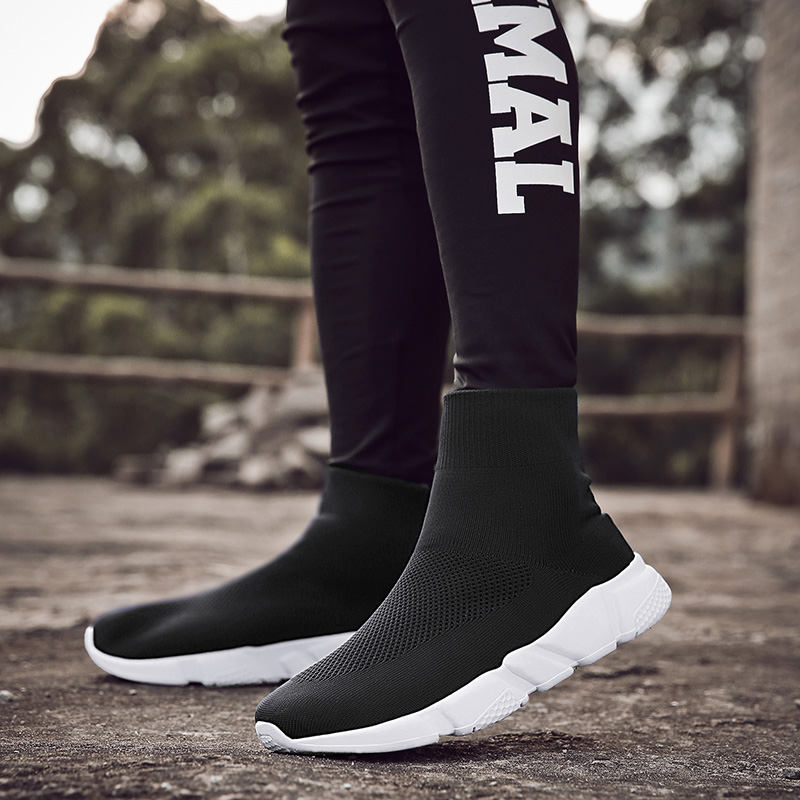 Men/'s Ultralight FlyKnit Socks Shoes Sports Sneakers Elastic Breathable US 11 12