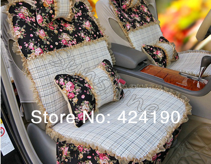 WholeSale Auto interior Car Accessories Car Seat Cover set with ...