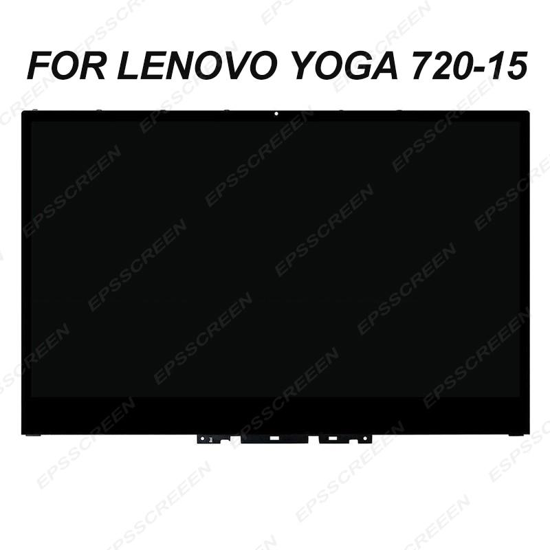 NEW 15 6 for lenovo yoga 720 15 FHD UHD monitor touch digitizer panel frame bezel