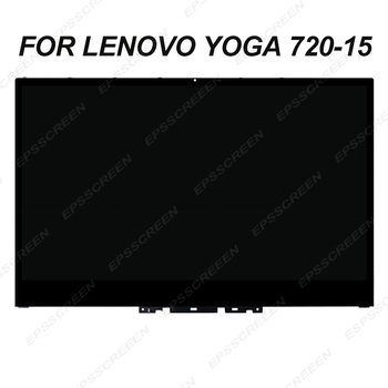 """NEW 15.6"""" for lenovo yoga 720-15 FHD UHD monitor touch digitizer panel +frame bezel +led lcd screen B cover assembly display"""