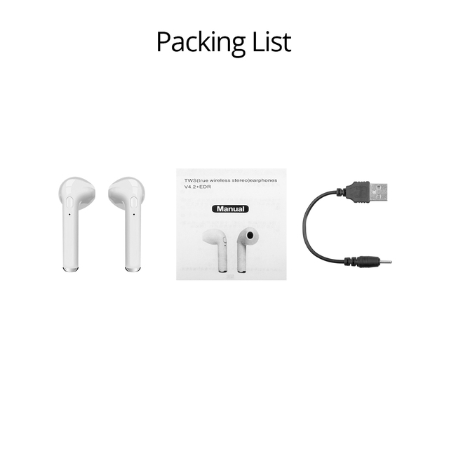 HdoorLink mini in-ear Portable Bluetooth Earphone Wireless Earbuds Simple with Microphone Hands Free Earphones Phone Earpiece