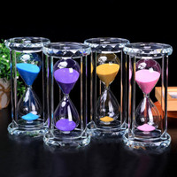 H&D 30 Min Retrore Hourglass Sand Timer Clock Modern Hour Glass Sandglass Sand Clock Tea Timers Home Decoration Valentine Gift