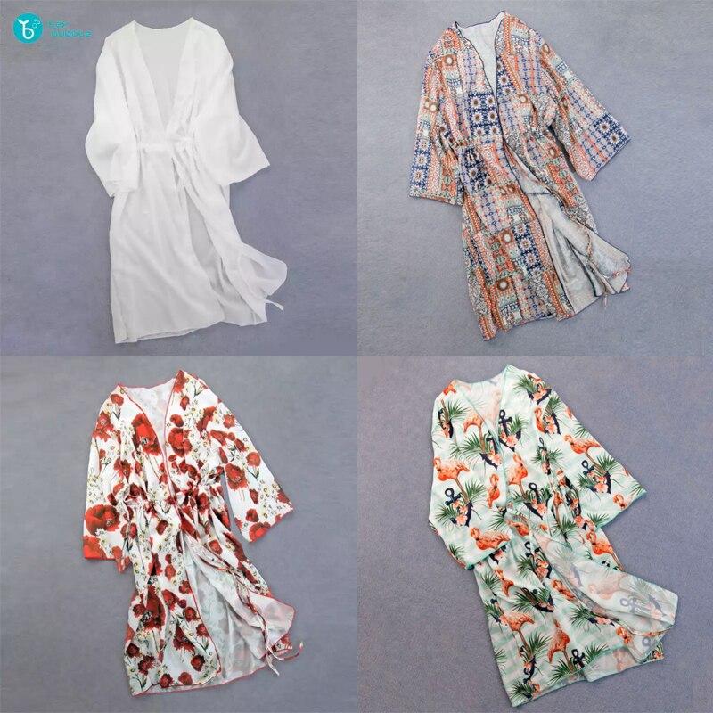 Plage robe Sarongs cache-maillot de bain Bobe de Plage paréo Plage tuniques maillot de bain housse Saida de Praia Bikini cache-maillot