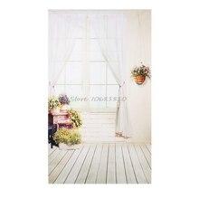 3x5FT окна Шторы цветок студия фотографии фонов фото Задний план реквизит # R179T # Прямая доставка