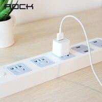 Rock 4 USB Port Power Strip Fast Portable Charging 3meter Jack US Power Strip with 1.8 Meter Power Cord